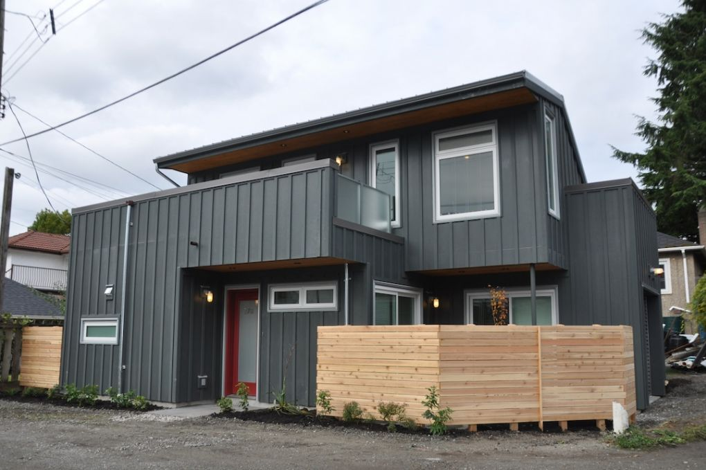 Lanecraft Laneway Houses Vancouver Projects